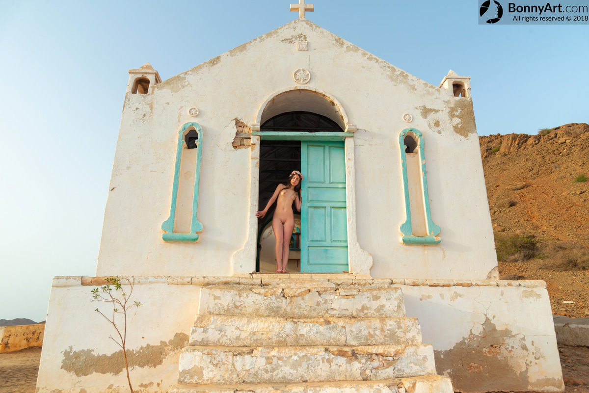 Nude Girl at the Church's Door