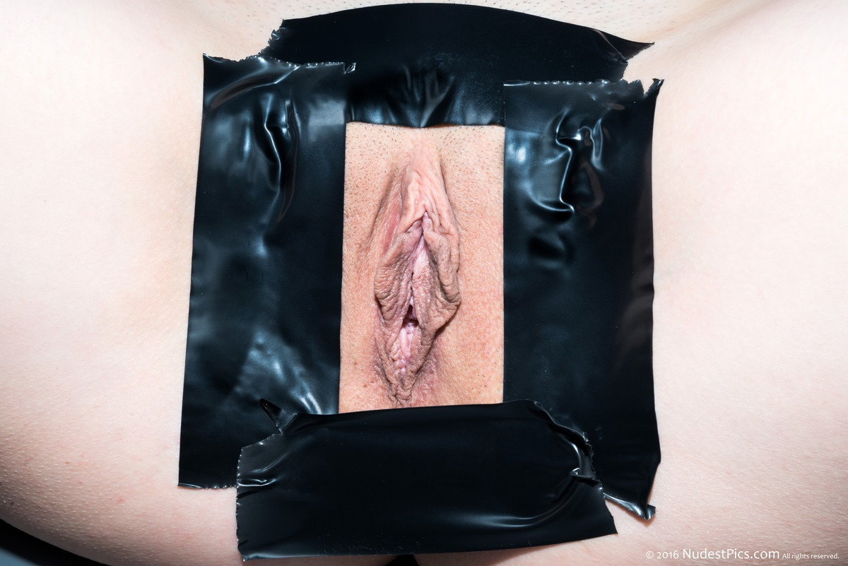 White Pussy with Duct Tape